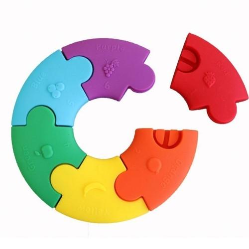Puzzle Sensoryczne Kolorowe...