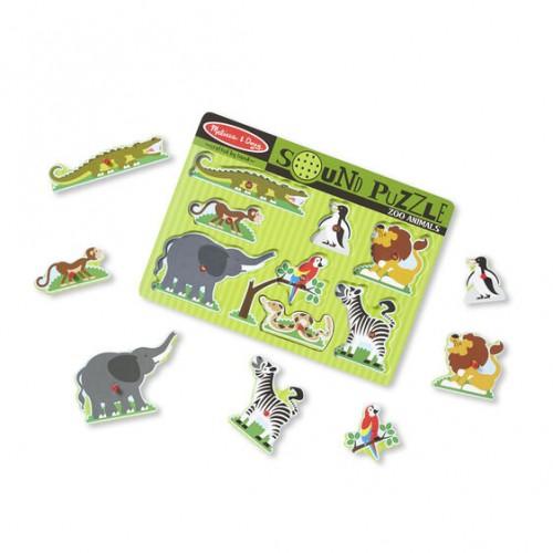 Puzzle Dźwiękowe Zwierzęta...