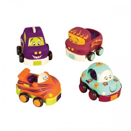 B.toys - autka miękkie...