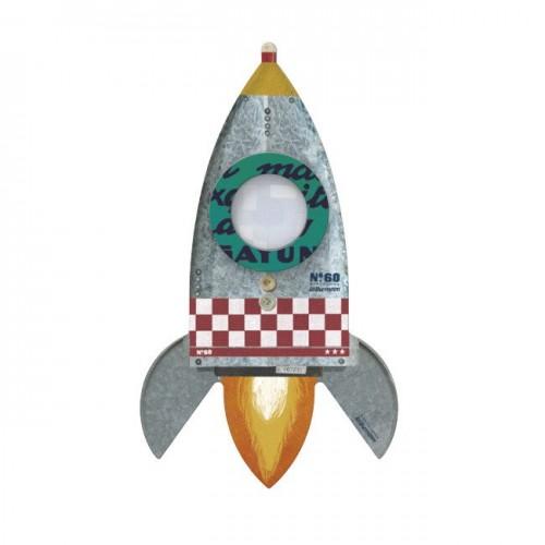 Kalejdoskop pryzmat rakieta...