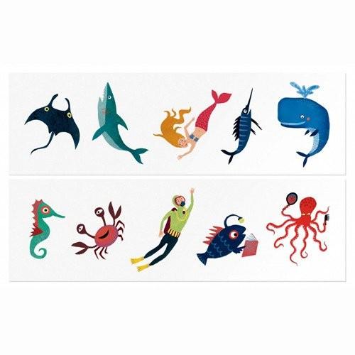 Tatuaże Dziecięce Ocean -...