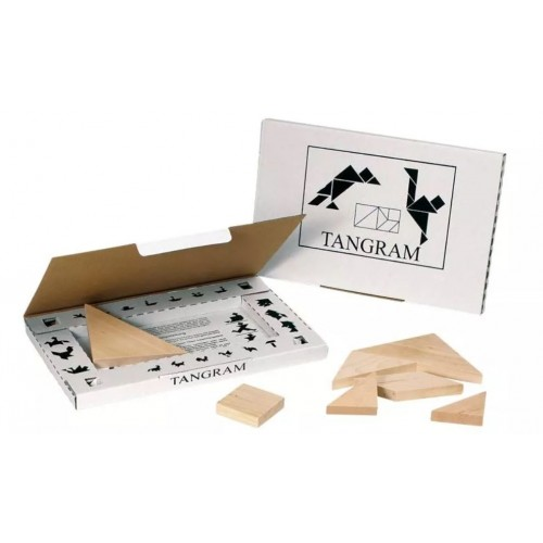 Tangram Układanka drewniana...