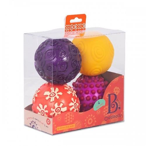 B.toys - zestaw 4 piłek...