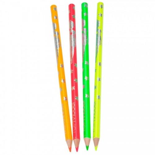 Neonowe kredki 4 kolory –...