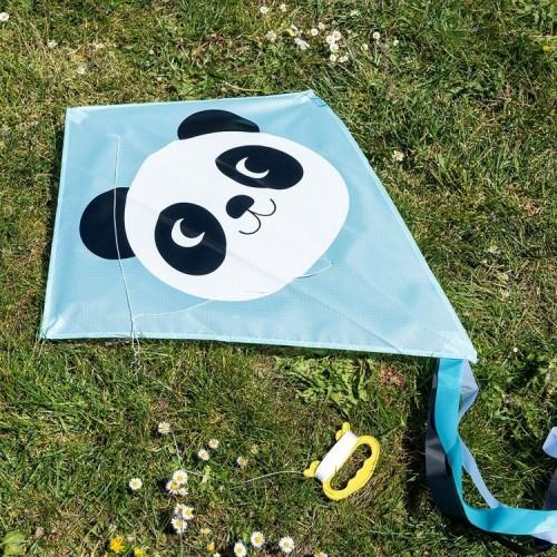 Kolorowy latawiec Panda -...
