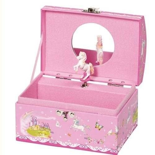 Różowa szkatułka z...