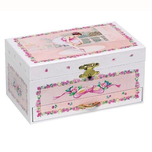 Różowa szkatułka na...