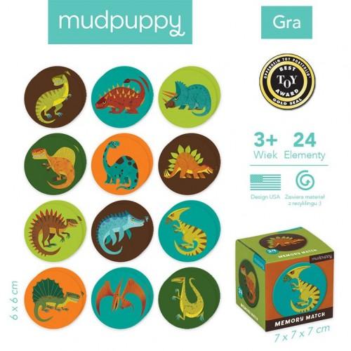 Gra Mini Memory Dinozaury -...
