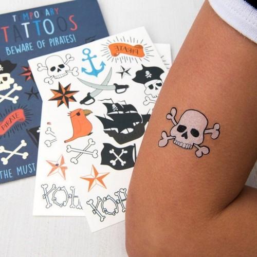 Tatuaże Dziecięce Pirackie...