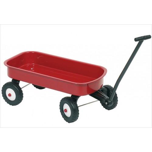 Czerwona przyczepka Wózek -...