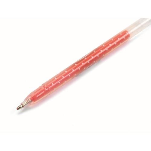 Żelowe Neonowe Długopisy -...