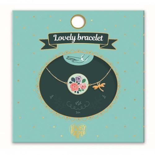 Bransoletka kwiaty Lovely -...