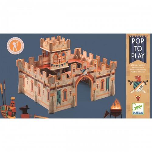 Zamek średniowieczny z...
