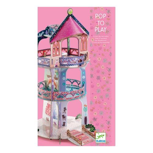 Wieża księżniczki z kartonu...