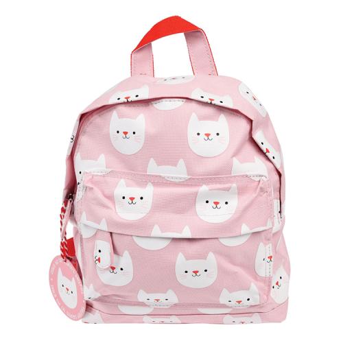 Różowy Plecak mini Kotek -...