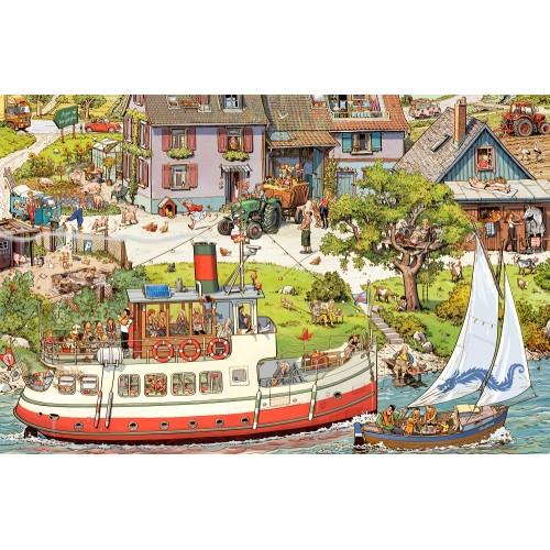 Statki, łodzie, motorówki -...