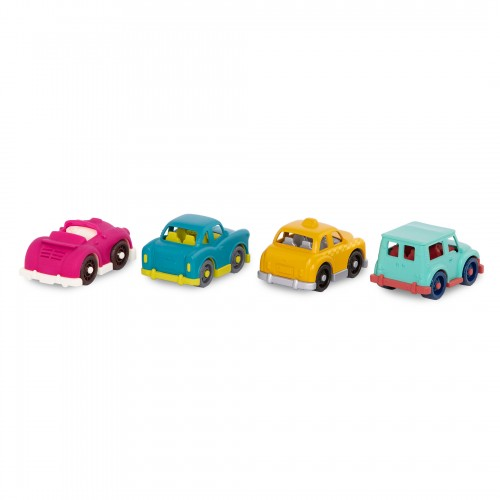 Zestaw 4 małych autek MINI...