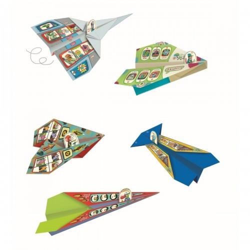 Origami z naklejkami...