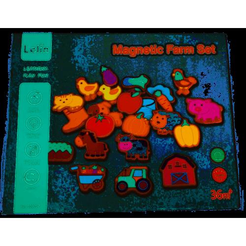 Magnesy Zwierzęta na Farmie...