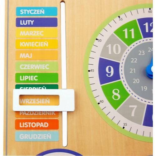 Kalendarz nauka czasu i pór...
