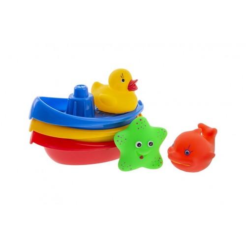 Łódeczki i zwierzątka do...