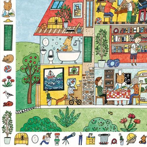 Puzzle obserwacyjne Dom 35...