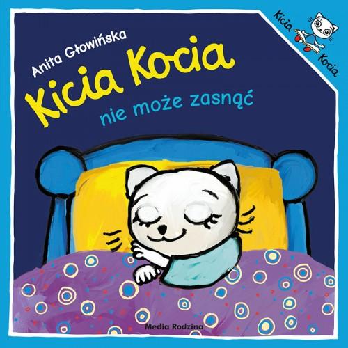 Kicia Kocia nie może zasnąć...