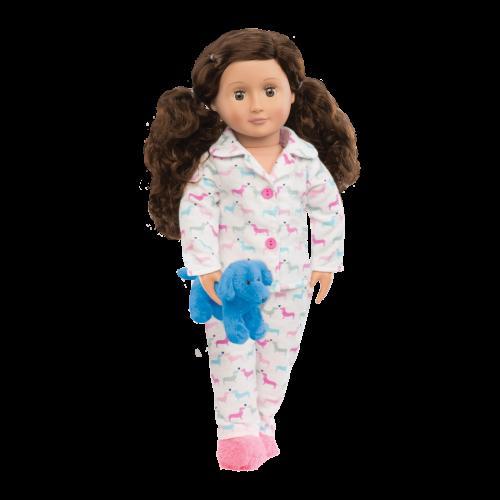Piżamka dla lalki Counting...