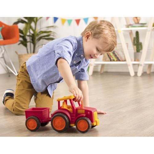 Traktor z przyczepą -...