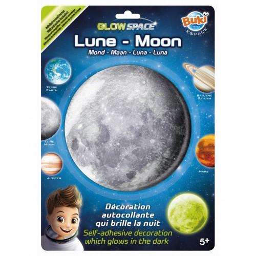 Naklejka Księżyc świecąca w...