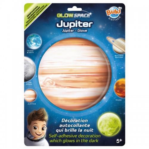 Planeta Jowisz świecąca w...