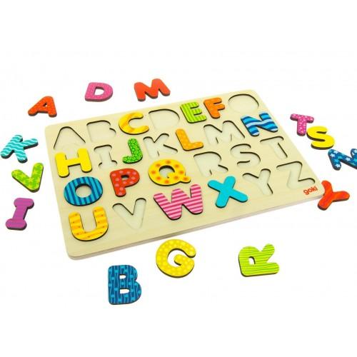 Układanka Alfabet - Goki