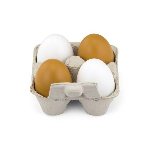 Drewniane jajka w...