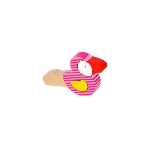 Gwizdek Ptaszek Różowy - Goki