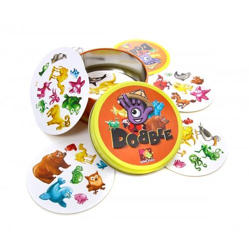 Gra Dobble Zwierzaki 5w1 -...