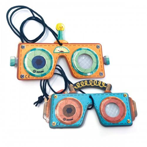 Kalejdoskop Okulary Robota...