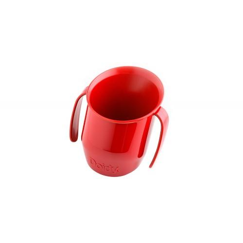 Krzywy kubek 200ml Czerwony...