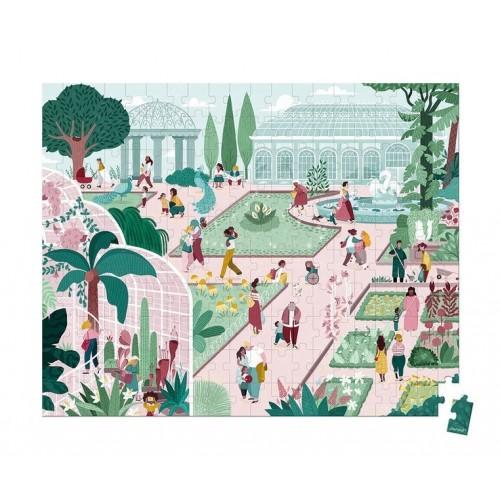 Puzzle w walizce Ogród...