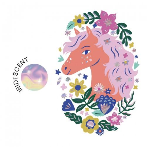 Tatuaż Tymczasowy Koń - Djeco