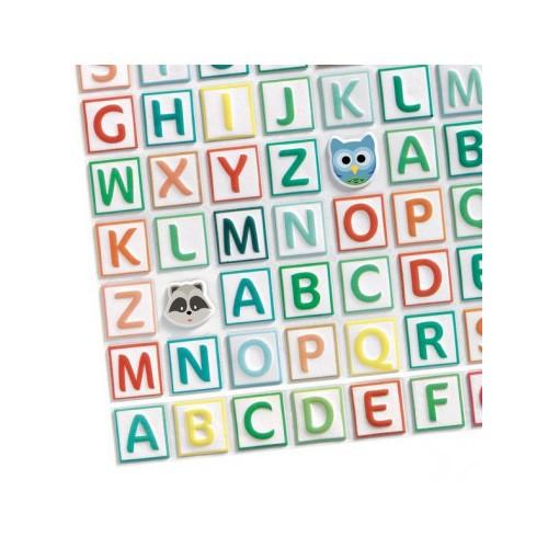 Wypukłe Naklejki Alfabet -...