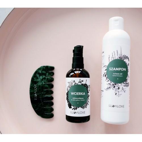 Ziołowy szampon...