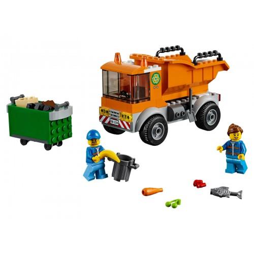 Klocki LEGO City Śmieciarka...