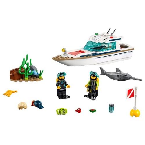 Klocki LEGO City Jacht 60221