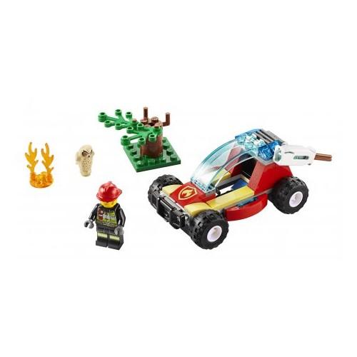 Klocki Lego City Pożar lasu...