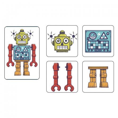 Gra w Karty Roboty - Djeco