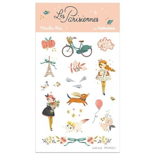 Tatuaże Les Parisiennes  -...