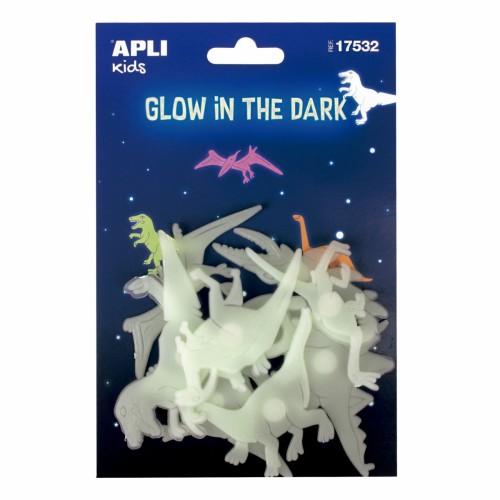 Dinozaury świecące w...