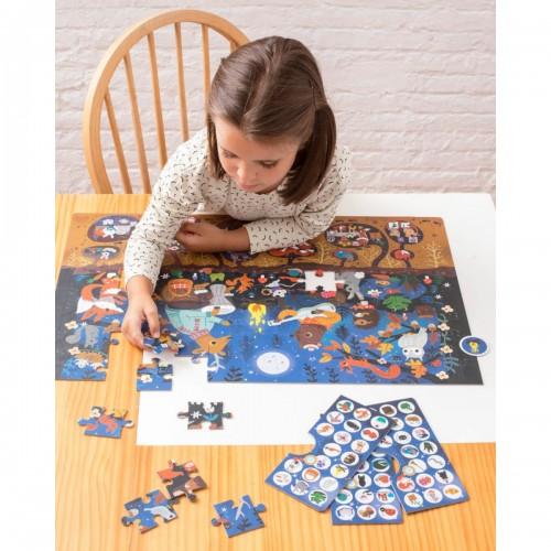 Puzzle obserwacyjne 104 el....