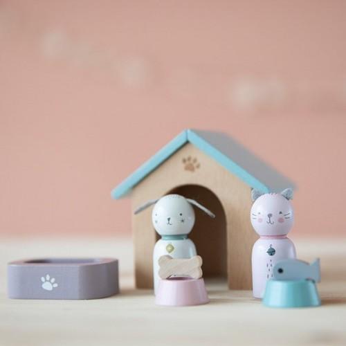 Figurki Domowe Zwierzątka -...
