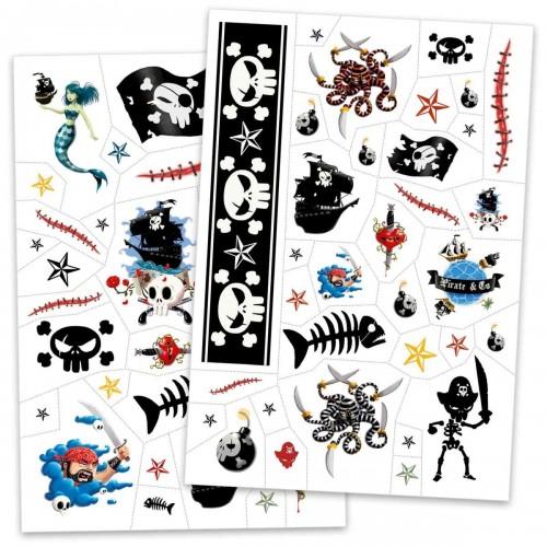 Tatuaże dla Dzieci Piraci -...